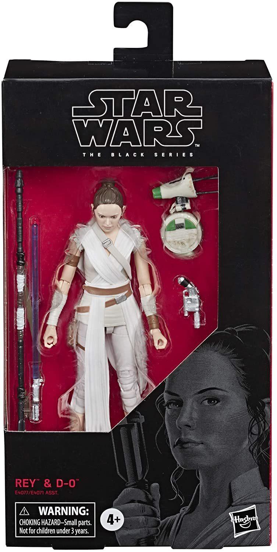 Фигурка Рея и D-0 Star Wars: Black Series Звездные Войны 15 см