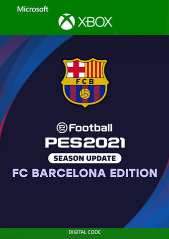 eFootball PES 2021 Season Update FC BARCELONA EDITION (Xbox One/Series S/X, цифровой ключ, русские субтитры)