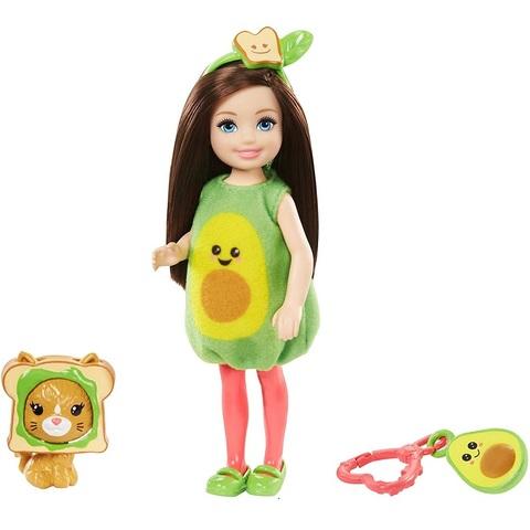 Барби Челси Брюнетка в Костюме Авокадо
