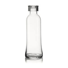Бутылка для воды стеклянная, 1 л прозрачная, фото 1