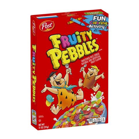 Сухой завтрак Fruity Pebbles