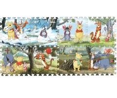 Играем вместе Коврик-пазл Винни Disney, 8 сегментов (178525)