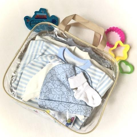 Набор одежды для новорожденных в роддом, мальчик
