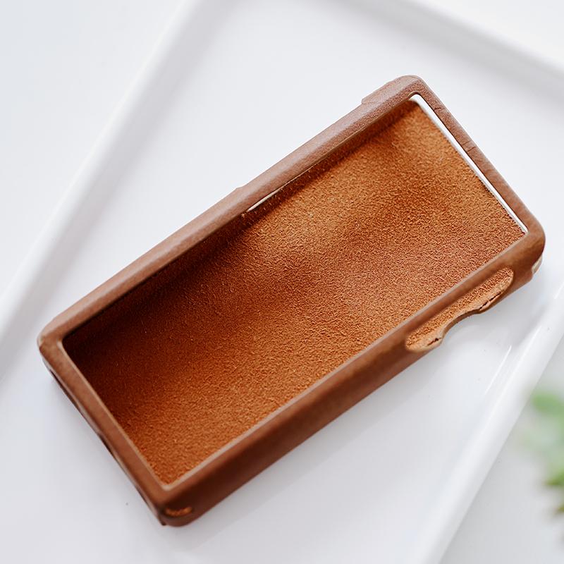 Чехол для плеера Shanling M5s. Цвет: коричневый.