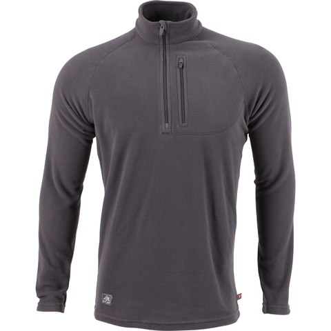 Пуловер Basis серый