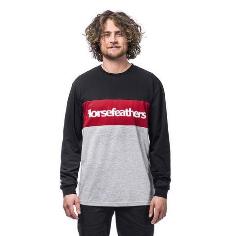 Лонгслив Horsefeathers Spaz LS T-Shirt Lava Red