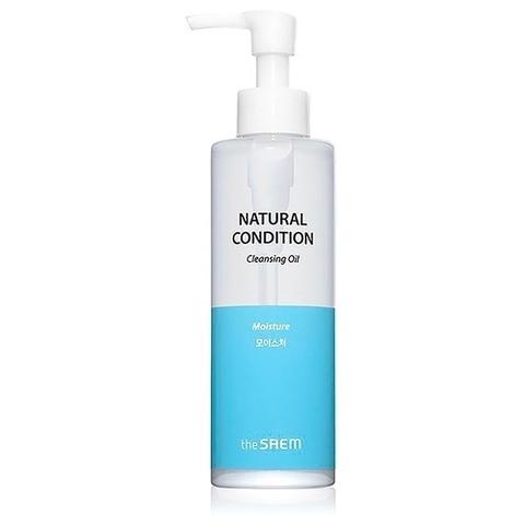 Гидрофильное масло увлажняющее для сухой и норм. кожи The Saem Natural Condition Cleansing Oil Moist