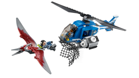 LEGO Jurassic World: Захват птеранодона 75915 — Pteranodon Capture — Лего Мир Юрского периода