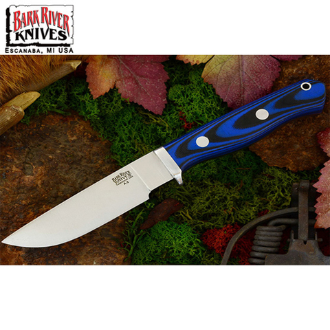 Нож Bark River модель Gameskeeper Blue & Black G-10