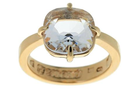 Кольцо с золочением Флегра
