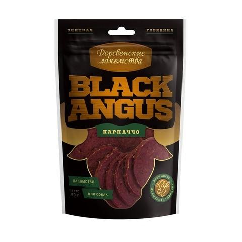 Деревенские лакомства Black Angus карпаччо из говядины для собак - 50 г