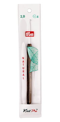 Крючок алюминиевый с деревянной ручкой 2 мм (арт 223500)