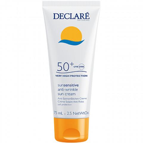 DECLARE Солнцезащитный крем SPF 50+ с омолаживающим действием | Anti-Wrinkle Sun Cream SPF 50+