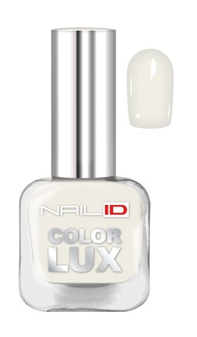 NAIL ID NID-01 Лак для ногтей Color LUX  тон 0101  10мл