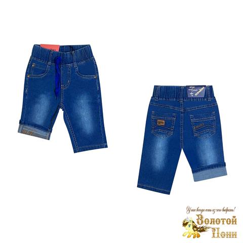 Бриджи джинсовые мальчику (2-7) 210424-B-56341
