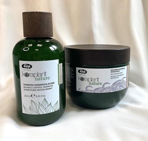 Комплекс KERAPLANT Nature для жирной кожи и сухих волос