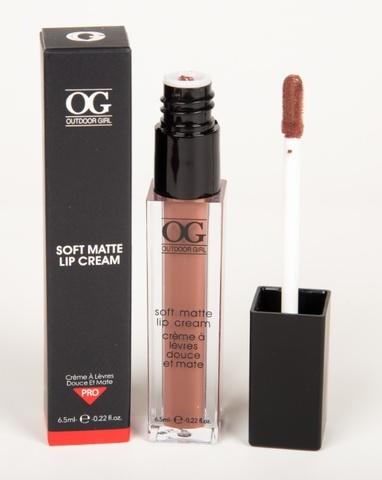 OG-C1195 Блеск для губ ультра-матовый SOFT MATTE LIP CREAM тон 15 Шоколад