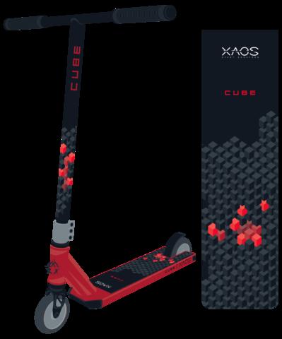 Трюковый самокат Xaos cube 110 мм