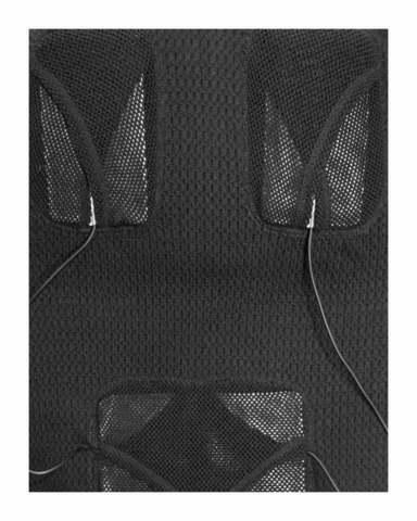 Фуфайка шерстяная с подогревом RedLaika Arctic Merino Wool RL-TW-03 женская черная
