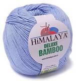 Пряжа Himalaya Deluxe Bamboo 124-14 голубой