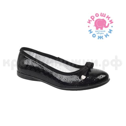 Туфли школьные черный, Тотто (ТРК ГагаринПарк)