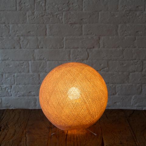 Хлопковый светильник коричневый