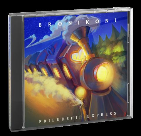 Альбом BroniKoni - Friendship Express (CD)