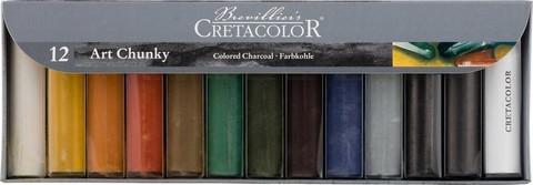 Набор цветных угольных брусков