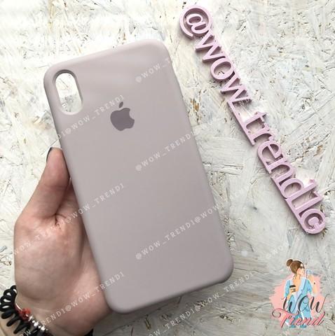 Чехол iPhone XR Silicone Case /lavender/ лаванда 1:1