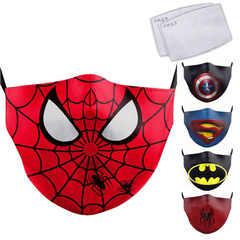 Маска защитная детская Супергерои