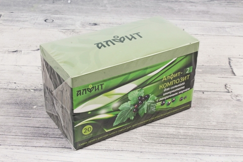 Чай Алфит Композит-2 иммуномоделирующий, 20 пак. (Гален)