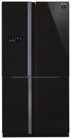 Холодильник side-by-side Sharp SJ-FS97VBK
