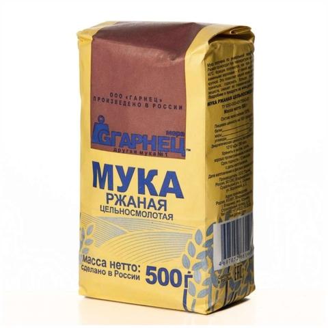 Мука ГАРНЕЦ Ржаная 500 гр РОССИЯ