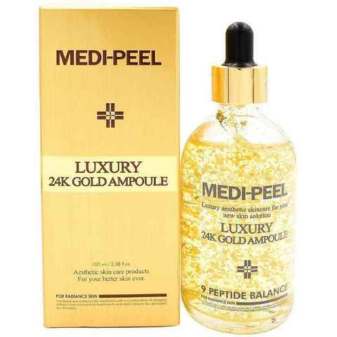 MEDI-PEEL Luxury 24K Gold Ampoule (100ml) Ампульная эссенция с чистым экстрактом золота
