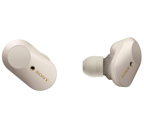 WF-1000XM3S беспроводные наушники Sony, цвет серебристый (витринный образец)Копировать товар