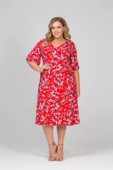 Платье Серайз красное