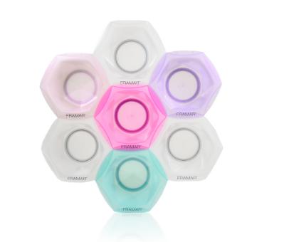 Rainbow сonnect & Color Bowls | Соединяющиеся радужные миски для окрашивания (7 шт в наборе)