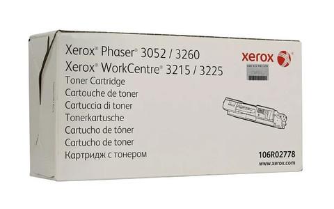 Картридж Xerox 106R02778 черный