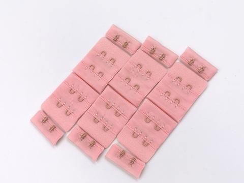 Застежка, 2х2, 3см, розовая пудра, шт