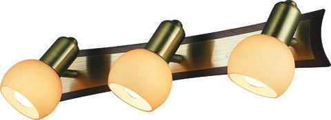 INL-9275W-03 Antique brass & Walnut