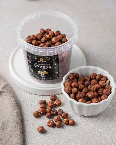 Фундук сырой HoneyForYou, 600 грамм