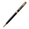 Parker Sonnet Core Slim - LaqBlack GT, шариковая ручка, M, BL