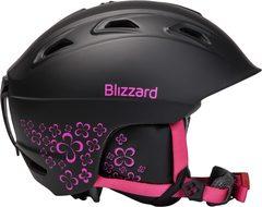 Горнолыжный шлем Blizzard Viva Demon black matt/magenta flowers