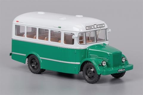 KAVZ-651 beige-green 1958-1967 Classicbus 1:43
