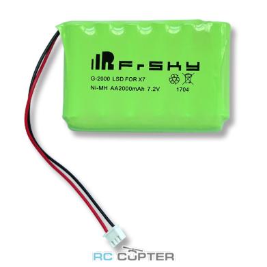 АКБ FrSky 2000mAh 7.2V Ni-MH battery для Taranis Q X7