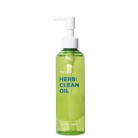 Очищающее Гидрофильное Масло С Экстрактами Трав MANYO FACTORY Herb Green Cleansing Oil