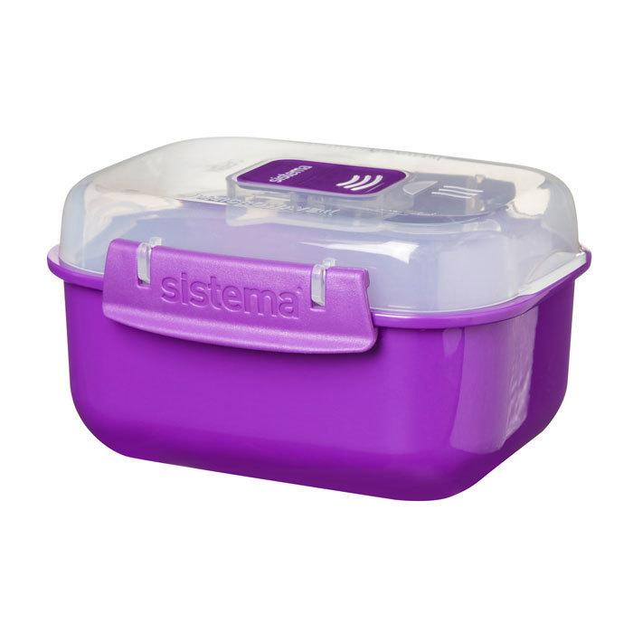 "Контейнер для СВЧ Sistema ""Microwave"" 525 мл, цвет Фиолетовый"