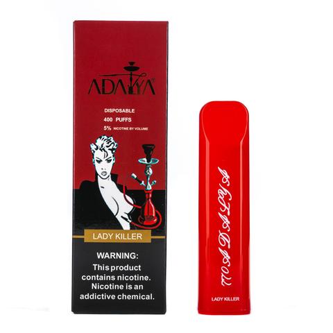 Одноразовая электронная сигарета Adalya Lady killer 5% 400 затяжек