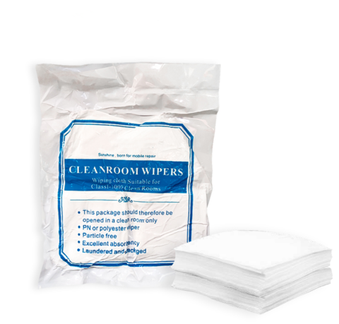 Cleanroom Wipers Class1 Antistatic 400pcs Orig MOQ:10 (Салфетки для очистки дисплеев)