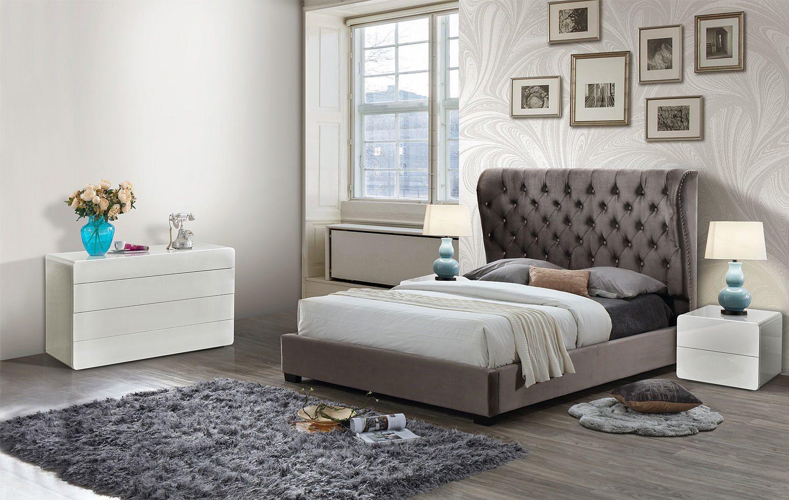 Спальня ESF INFI2971 темно-коричневая